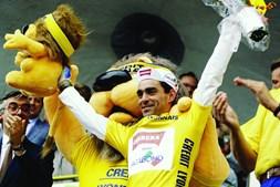Acácio da silva vestiu a amarela em 1989: feito único.