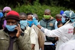 coronavírus, medição de febre, África