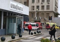 Urgências Hospital Santa Maria, em Lisboa