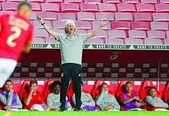 Jorge Jesus, para não variar, não parou ontem um minuto no jogo que assinalou o seu regresso ao Estádio da Luz como treinador do Benfica, depois de passagens pelo Sporting, Arábia  Saudita e Brasil, onde se sagrou campeão