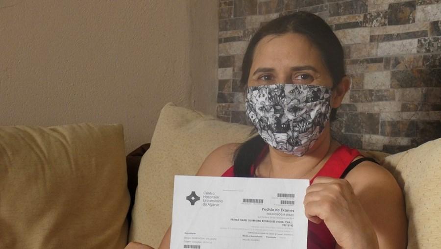 Fátima Vieira, de 44 anos, foi diagnosticada com esclerose múltipla