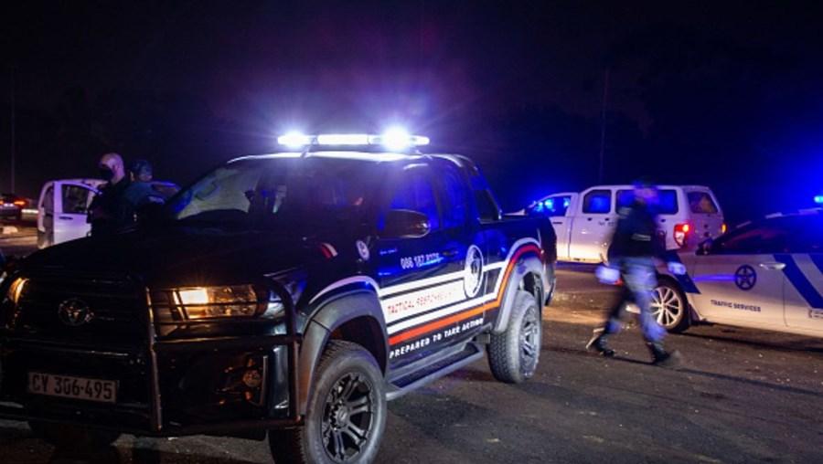 Polícia da África do Sul, imagem ilustrativa