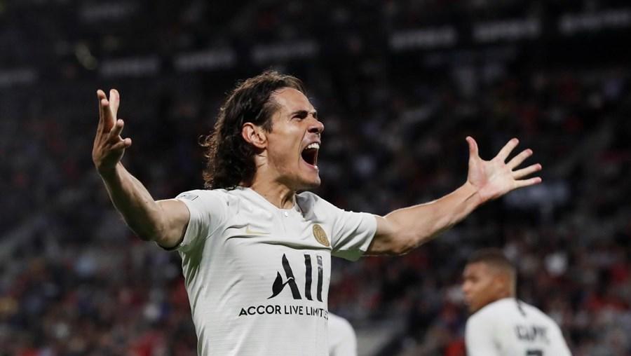 Cavani, de 33 anos,  é o desejado no Benfica