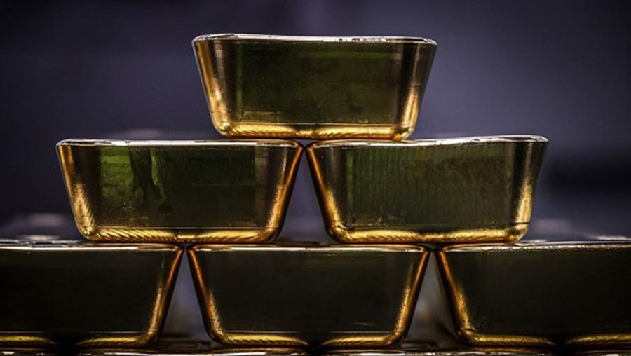 Preço do ouro atingiu nível histórico esta segunda-feira.