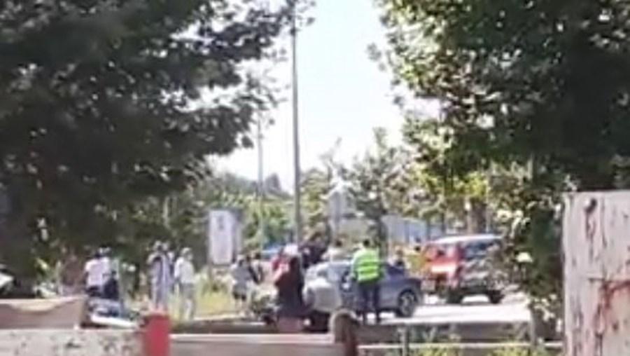 Homem ferido em explosão numa pedreira retirado de helicóptero da Póvoa de Lanhoso