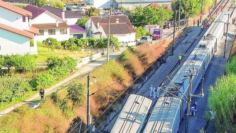 Acidente de Soure envolveu uma dresina e um Alfa com destino ao Porto