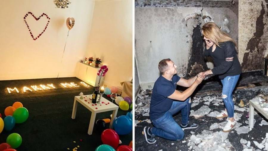 Velas causaram incêndio que destruiu apartamento