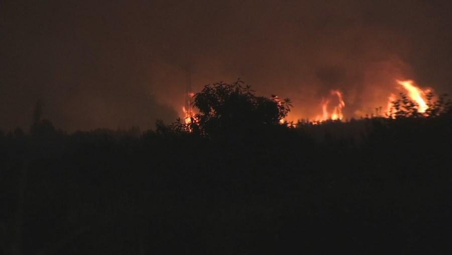 Incêndio em Sabrosa