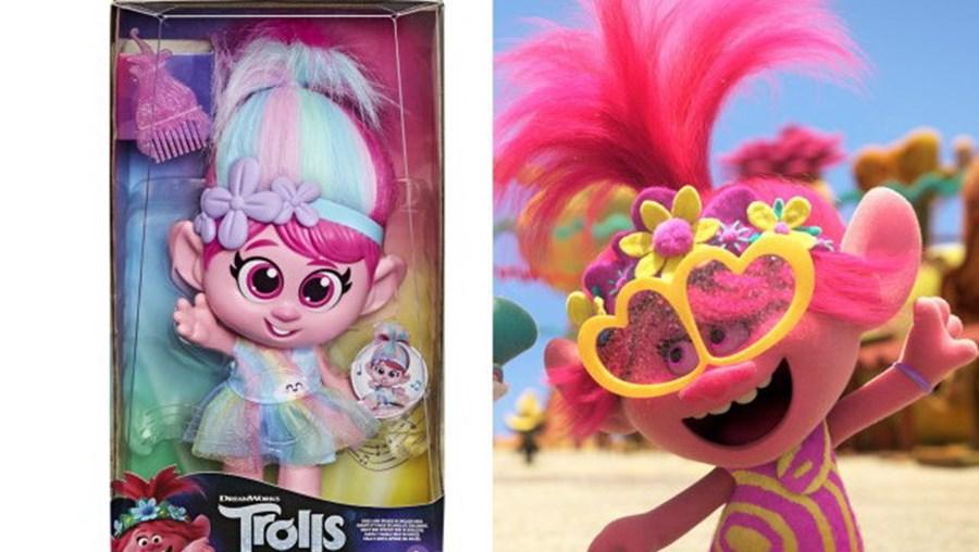 Boneca do filme 'Trolls' está a ser recolhida nos EUA