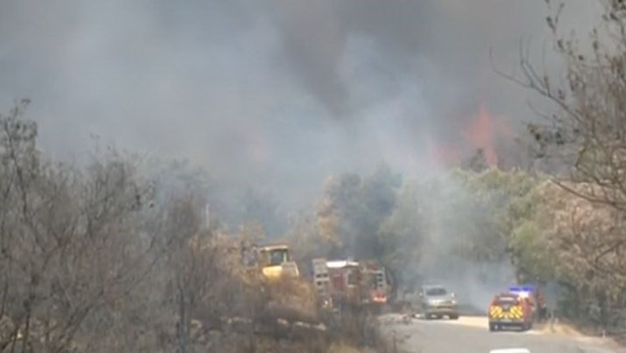 Incêndio no Fundão já chegou à Covilhã