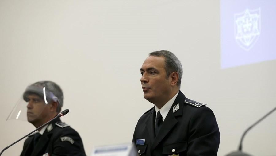 Paulo Pereira, comandante do Comando Metropolitano de Lisboa da Polícia de Segurança Pública