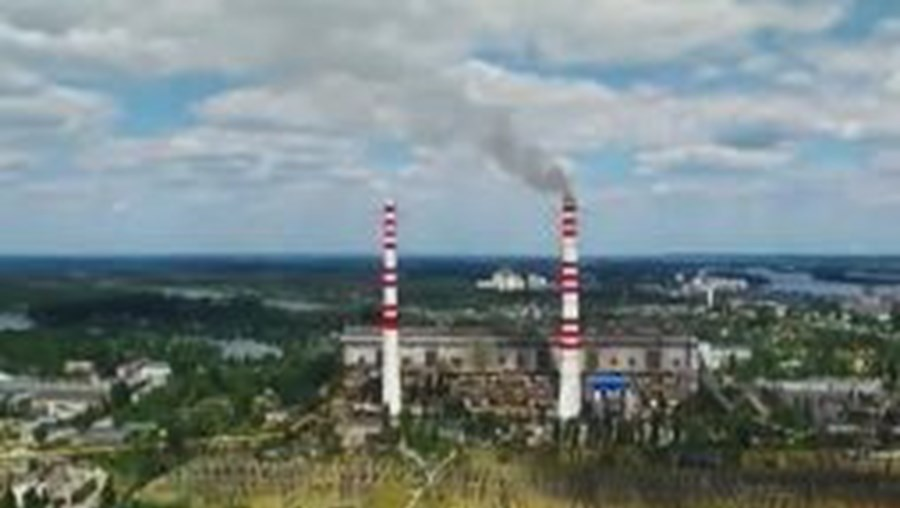 poluição, planeta, indústrias