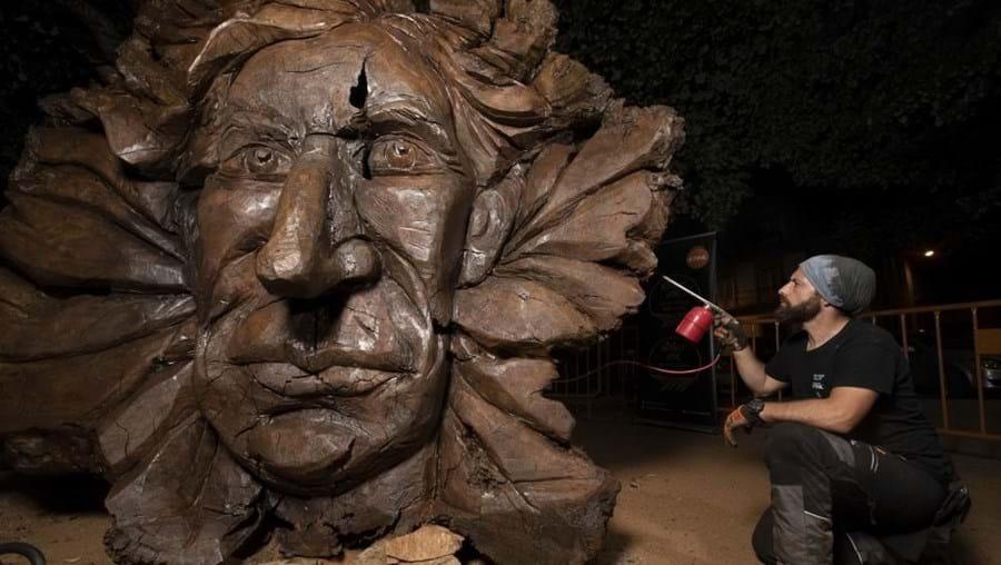 Filha de Miguel Torga diz estar desolada com escultura do autor em raiz de negrilho