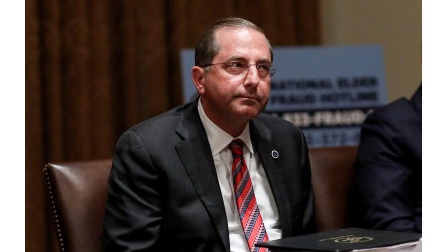 Alex Azar, secretário da Saúde dos EUA