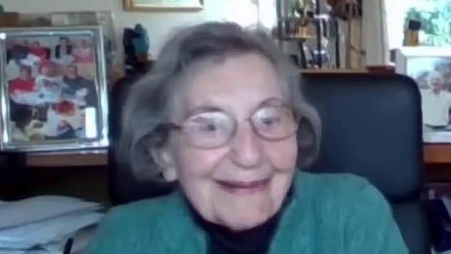 Marianne tem 98 anos