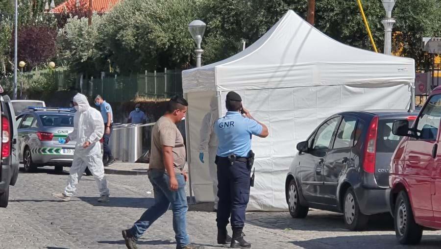 Judiciária instalou tenda à porta do Hospital do Fundão para recolher provas