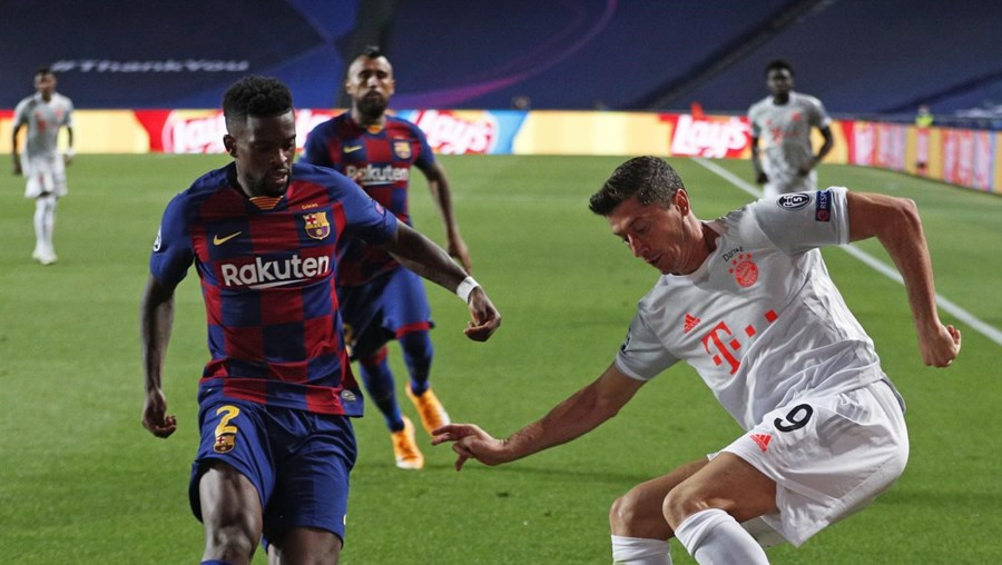 Nélson Semedo alvo de humilhação nas redes sociais após exibição cinzenta contra o Bayern
