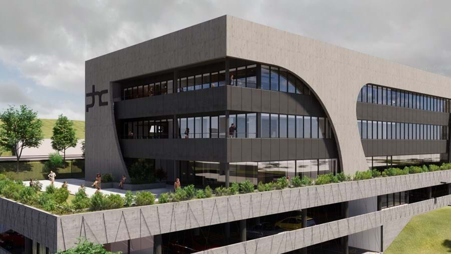 Nova sede da PHC no Taguspark