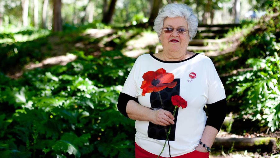 Maria do Rosário Gama, presidente da Associação de Pensionistas e Reformados (APRe!)
