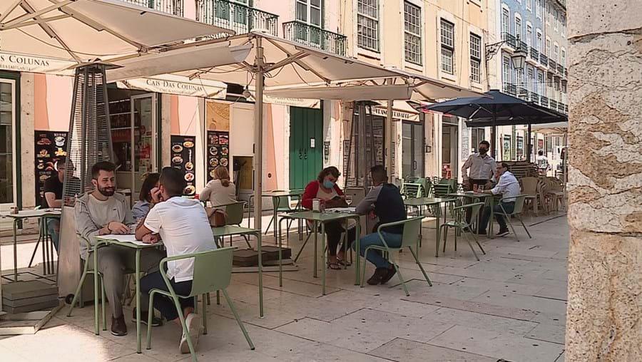 Esplanadas em Lisboa