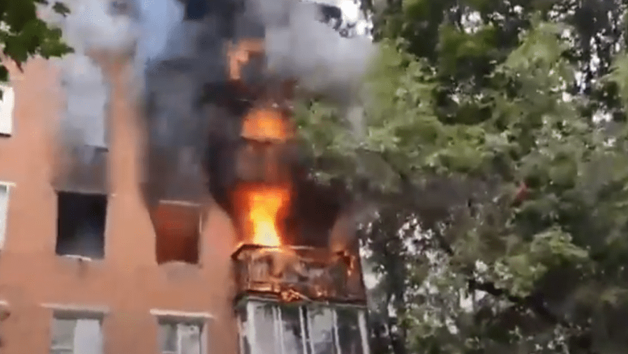 Fogo na Rússia