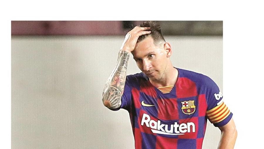Messi incorrerá, a partir de sta segunda-feira, numa sanção considerada grave, segundo o código disciplinar dos catalães