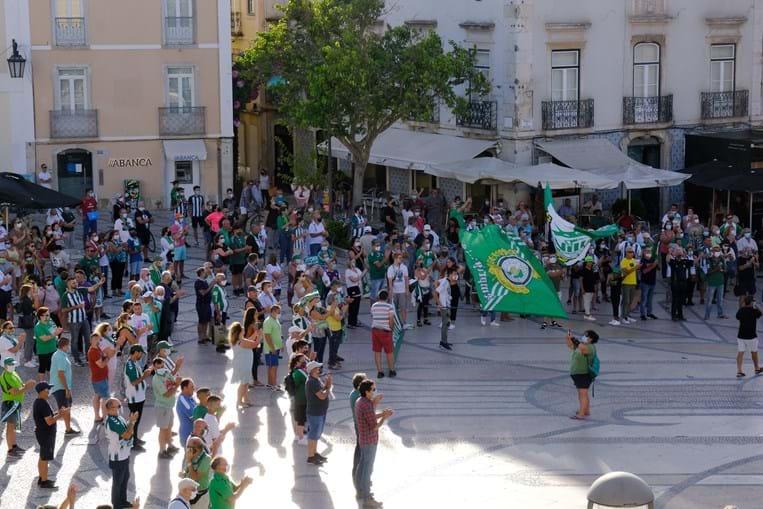 Dois mil sadinos saíram à rua para exigir readmissão do Vitória de Setúbal na I Liga
