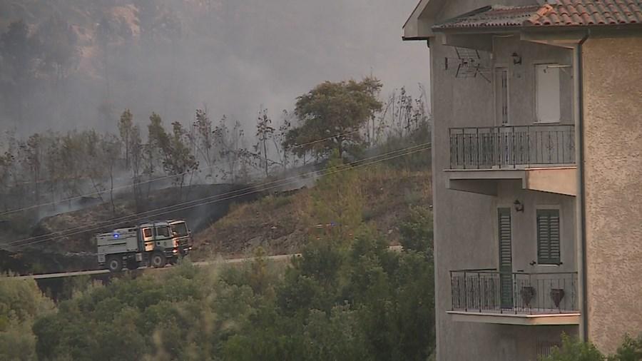 Incêndio em Mirandela