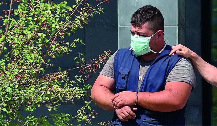 Incendiário foi esta quinta-feira presente a tribunal e ficou  em prisão preventiva