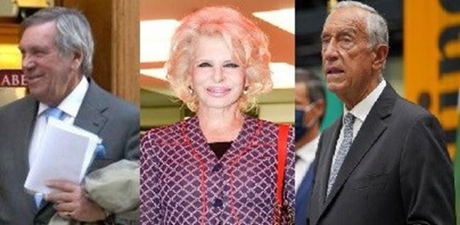 João Brito e Cunha, Lili Caneças e Marcelo Rebelo de Sousa