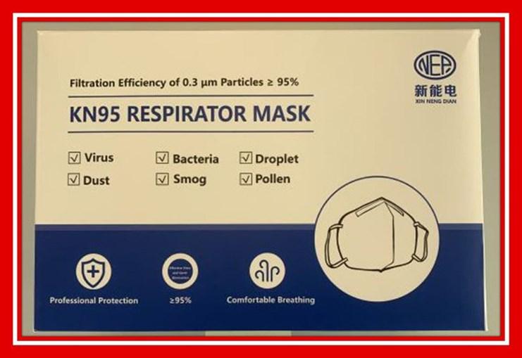 Máscara KN95 foi retirada do mercado