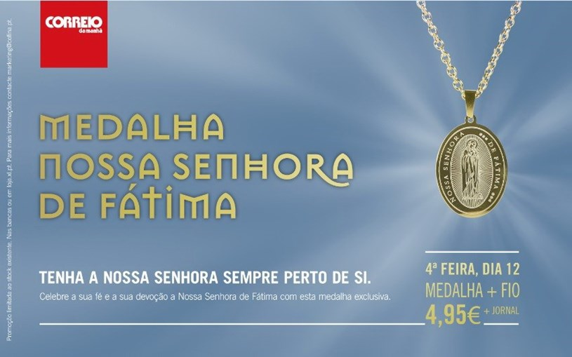 Medalha N. Srª de Fátima 2