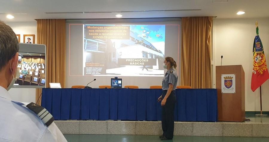 Médicos e enfermeiros militares portugueses dão formação a médicos dos PALOP para combate à pandemia