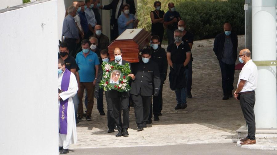 Última homenagem ao experiente piloto decorreu em Leiria