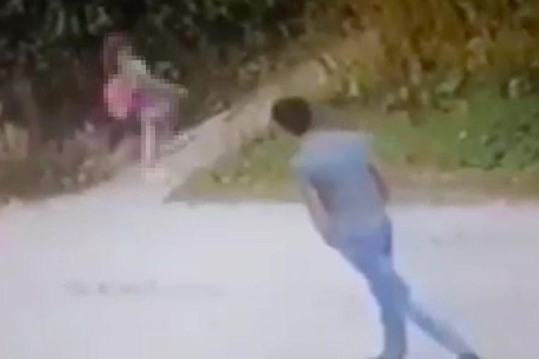 Suspeito foi filmado a perseguir vítimas