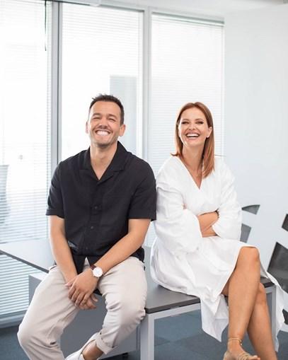 Pedro Teixeira e Cristina Ferreira