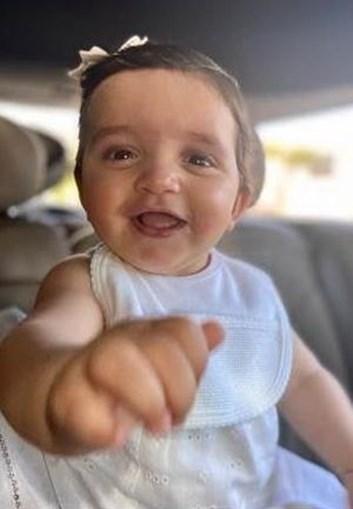 Maria Francisca tinha apenas 10 meses