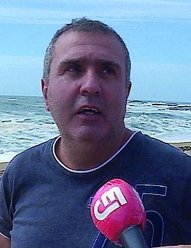 António Novais viu pescador a pedir ajuda, em total desespero