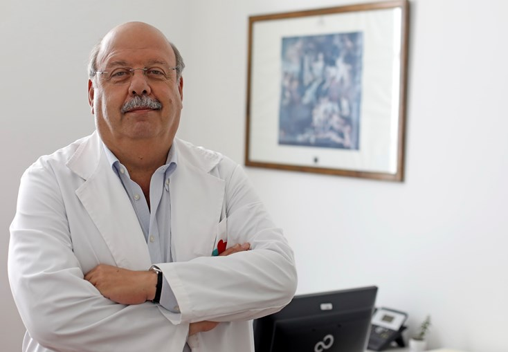 Luís Afonso, diretor clínico da Direção de Saúde da SCML