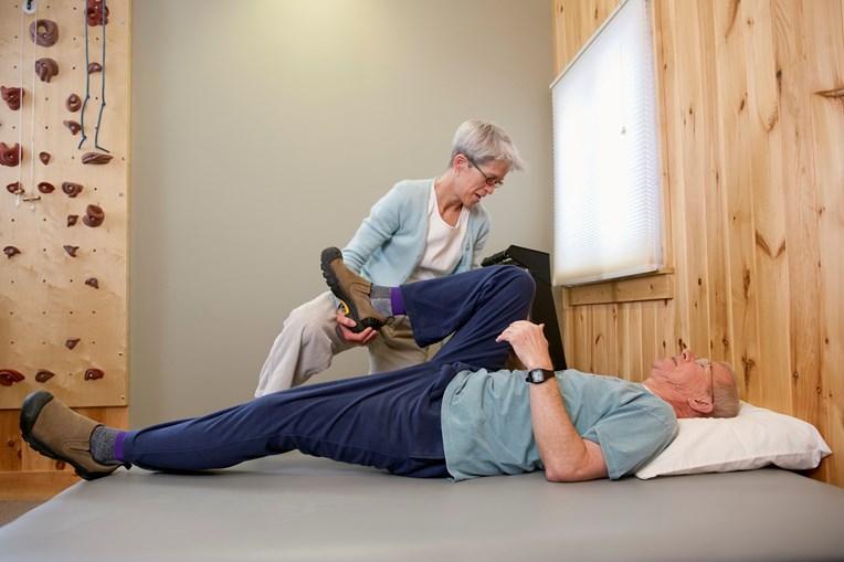 Utentes não infetados continuaram a fazer fisioterapia