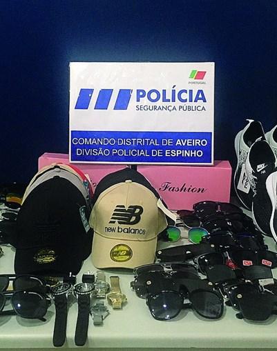 PSP faz caça à contrafação junto a praia em Espinho