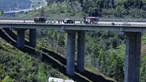 'Voo' de 50 metros na A23 fatal para motorista