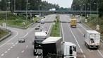Colisão entre dois camiões na A29 na zona de Arada em Ovar condiciona trânsito em ambos os sentidos