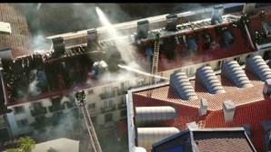 PJ investiga incêndio que provocou 13 desalojados em seis prédios de Lisboa