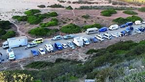 395 caravanistas multados por caravanismo ilegal e campismo selvagem