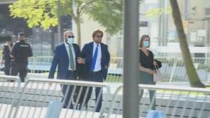 Advogado da Federação Portuguesa de Futebol chega a tribunal