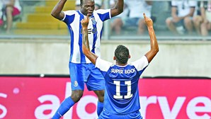 Aboubakar e Soares de saída do FC Porto