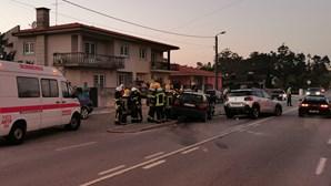 Homem morre em colisão entre dois carros na Póvoa de Varzim