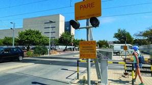 Viaduto traz segurança na frente ribeirinha de Faro