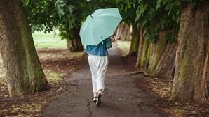 Vêm aí dias tropicais: chuva regressa a todo o País mas calor não vai embora